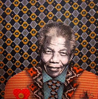 4 Mandela collages