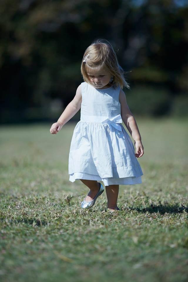 #GrainDeBlé #littlegirl #chic #White #little #garden #nature #fashion #ss15 #spring #party #summer www.zgeneration.com/it/
