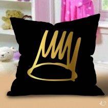 Born Sinner Crown Pillow Cases