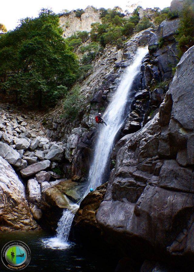 Kleidosi waterfall, Samothrace, Greece