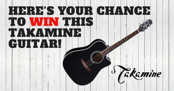 Here I'd like to share a link...  ( http://upvir.al/ref/10353789 ) Its your chance to win a Takamine guitar.   This is a chance to win this Takamine Guitar, usually I like to share and post that of the reason and an ideal giveaway is available!     -->>  http://upvir.al/ref/10353789   <<--    This explains itself w/ music in mind! It's important to remember that sharing that of a giveaway helps that of the word being spread but gives that of hope to others!  Keep the music flowing...   Good…