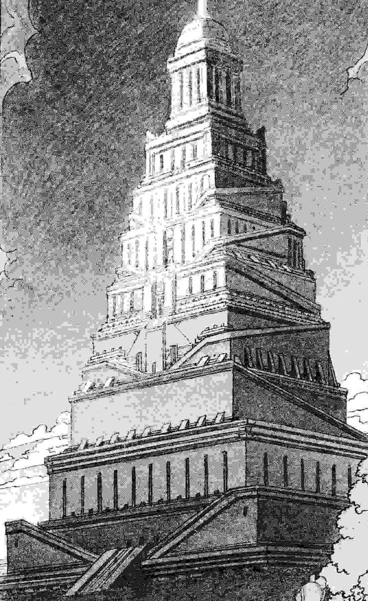 Tour de Babel par Schuiten