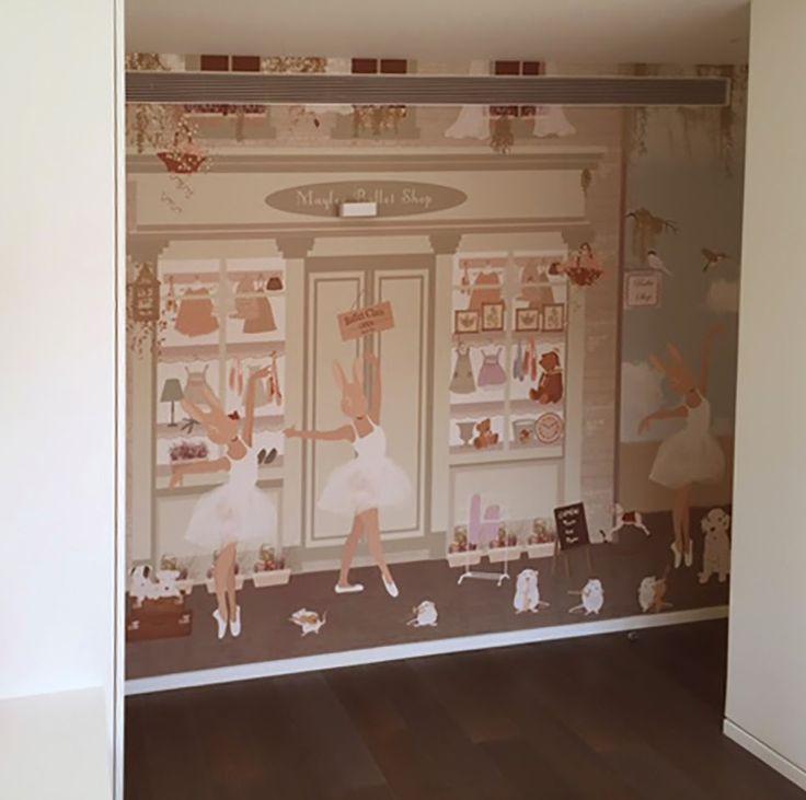 little hands: Little Hands Wallpaper Mural - Ballet Shop