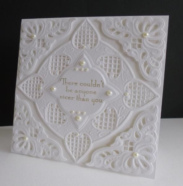 FS381 ~ Homage to Peggy Sistersandee on SCS Anja corner and square dies (by Marianne Designs)