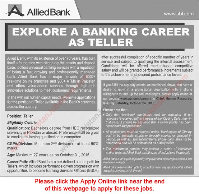 Bank Teller Job Description Head Teller Job Description