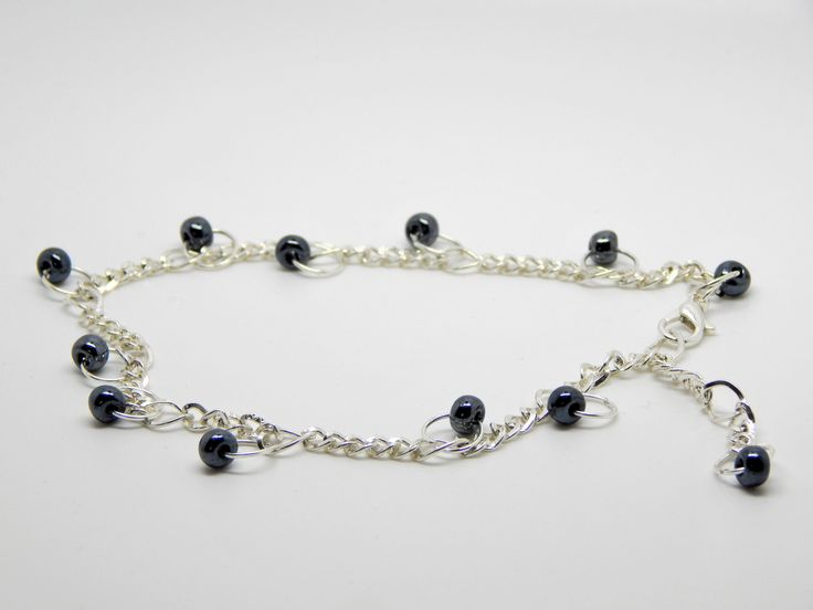 Beaded charm anklet $9.99 AUD