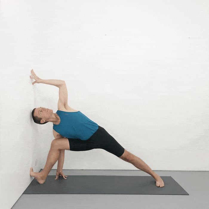Iyengar Yoga Sequence of Poses For Practice at Home in ...
