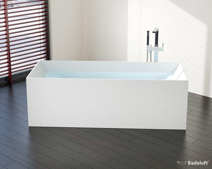Freistehende Badewanne BW 07 Aus Mineralguss