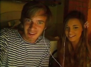 cutiepie and pewdiepie | PewdiePie and CutiePie Play Slender by ~Mysterious-Master-X on ...