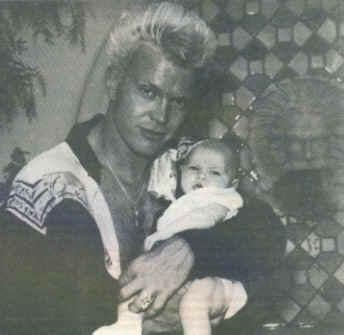 Billy and baby son, Willem- awwww to cute | Billy Idol | Pinterest | Billy idol, Idol and Adam ant