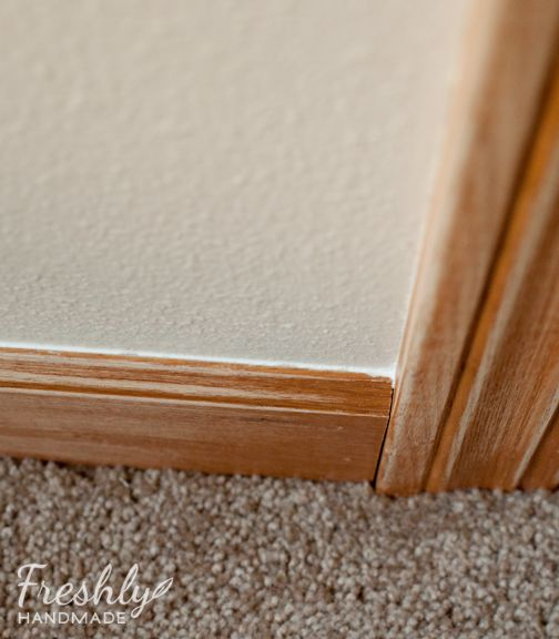 freshly handmade tutorial a guide to painting wood trim