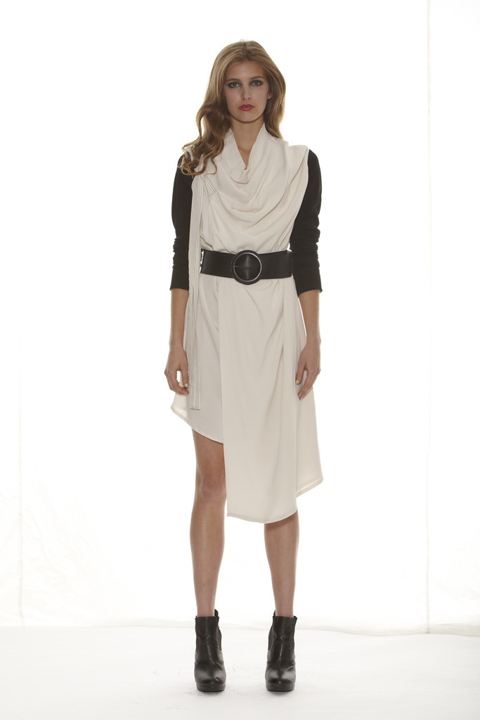 Taylor 'Shadow' Collection, Summer 12/13 www.taylorboutique.co.nz Enrapture Dress - Ivory