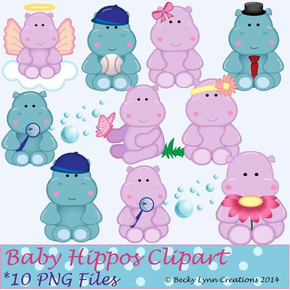 Ms de 25 ideas increbles sobre Beb hipoptamo en Pinterest