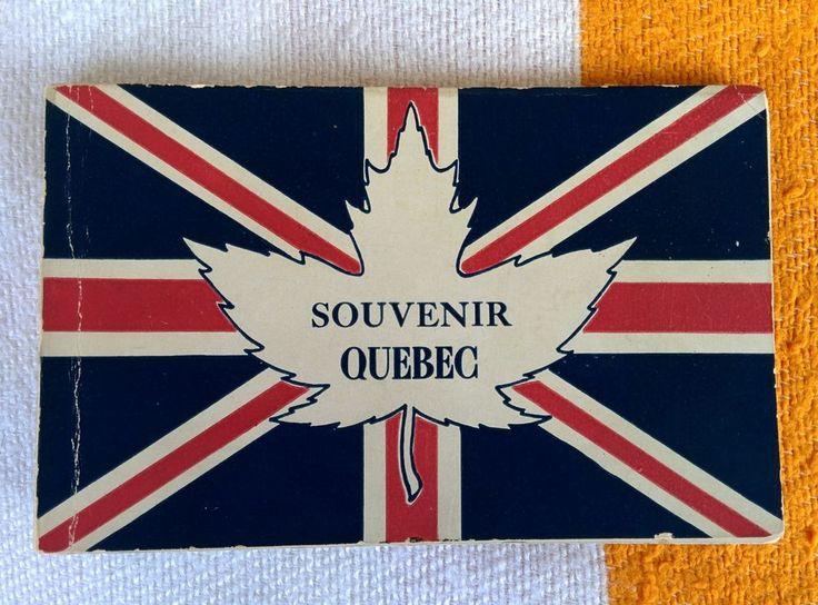 1906 Souvenir Quebec City 12 Postcard Set