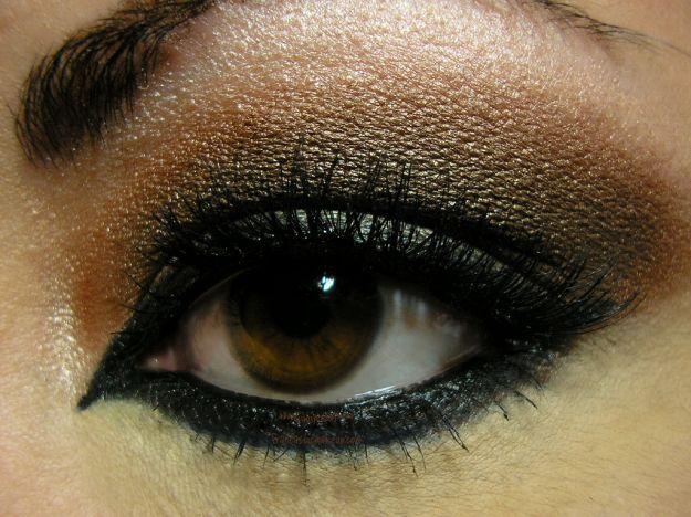 Насыщенный макияж для нависшего века ::: onelady.ru ::: #makeup #eyes #eyemakeup
