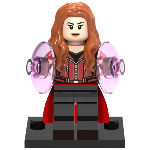 Collectible building blocks toy mini action figure doll model: Scarlet Witch  #ROBO