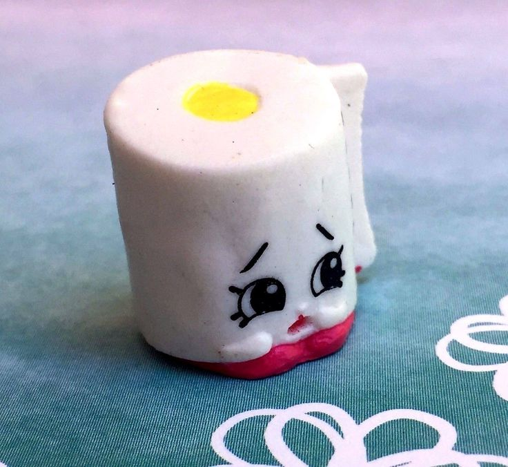 Shopkins Season 2 Leafy Toilet Paper White