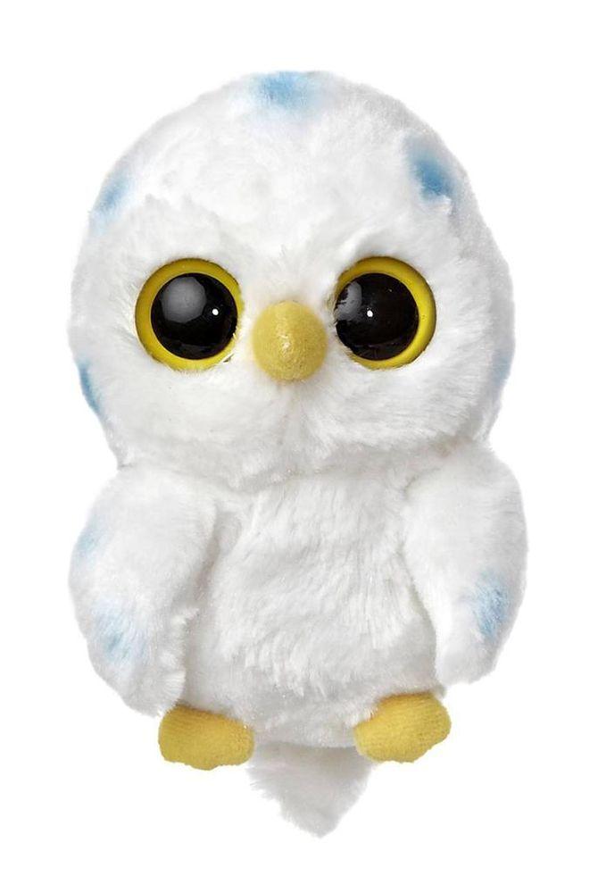 "5"" Aurora Plush Yoo Hoo & Friends Snowy Owl Stuffed Animal Toy w/ Sound 29040 #Aurora #YooHooFriends"