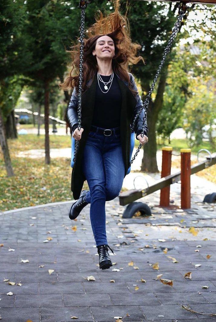 Pin By Saradahan On Birce Akalay Black And White Love Turkish Actors Women