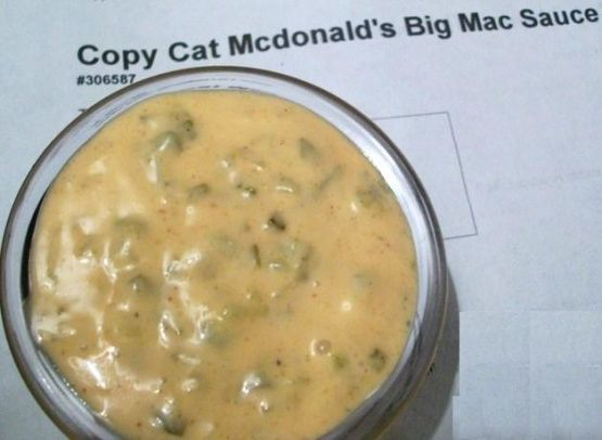Copycat Mc Donalds Big Mac Sauce Recipe - Genius Kitchen