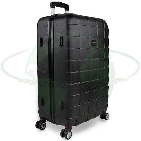 Juego de tres maletas rígidas Monzana. Set de maletas de diferentes tamaños. Color negro  http://latiendademaletas.com/maletas-viaje/maletas-bolsas-viaje/set-de-tres-maletas-rigidas-monzana/