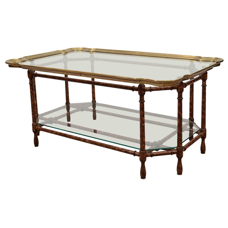 Baker Furniture Paris Coffee Table: Mid Century Coffee / Tray Table In The Style Of Baker