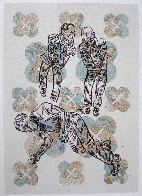 PUSH Print: A new book on contemporary printmaking « PRINTERESTING.Conrad Botes