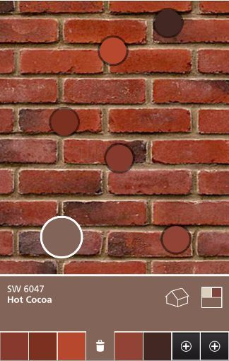 Image result for brick color