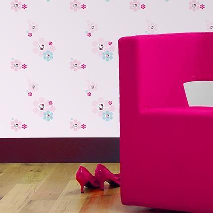 Decofun behang Hello Kitty   Praxis