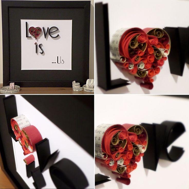 A unique handmade Love Heart for someone special. Each heart is different .  #valentinesgiftforher  #lovehearts #giftforhim #valentines #merseyetsyteam #etsyshopuk #etsyselleruk