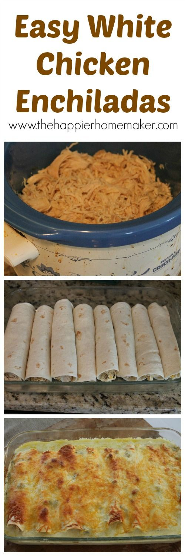 White Chicken Enchilada Recipe