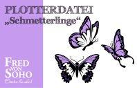 Schmetterlinge von Fred von Soho