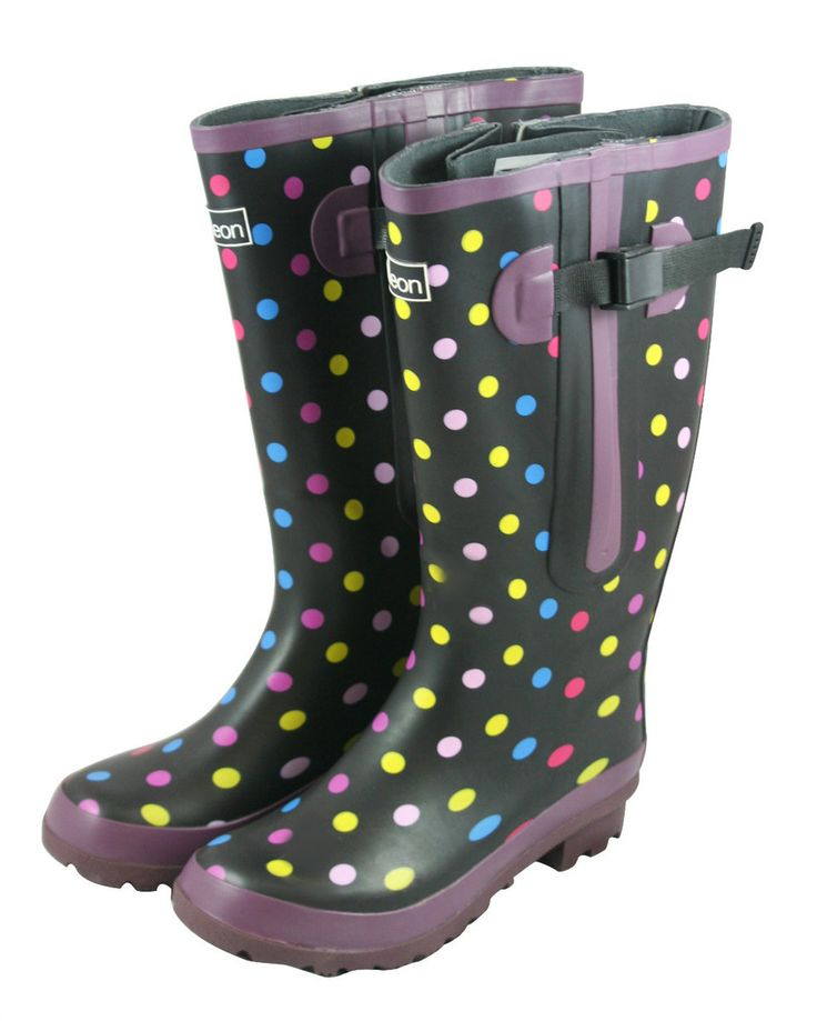 19 best images about Wide Calf Boots on Pinterest | Purple wellies ...