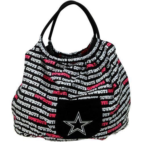 Dallas Cowboys Ladies Banner Purse - Black