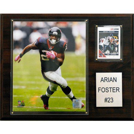 C Collectables NFL 12x15 Arian Foster Houston Texans Player Plaque