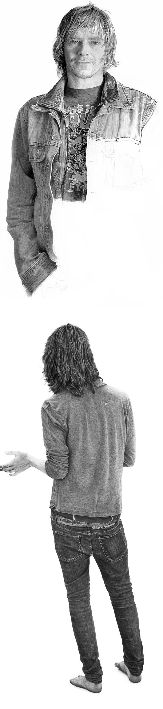 Hyper-Realistic Graphite Drawings