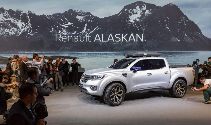 Renault Alaskan, inovație și eleganță Renault Alaskan și-a făcut, zilele astea, apariția pe net. Renault a publicat primele imagini oficiale și detalii