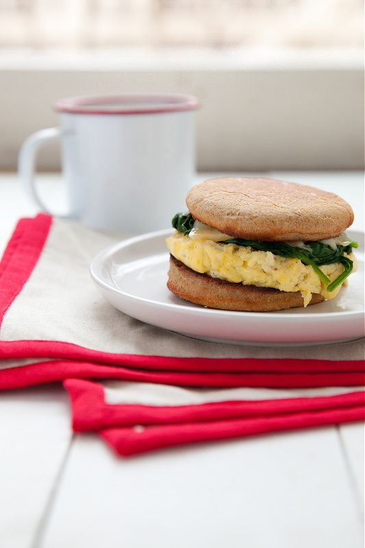 I suppose at its root, this is a breakfast sandwich. It is whole wheat english muffin sandwiching a fluffy egg, wilted spinach and melted gouda. Most fitting for breakfast perhaps, … Read More