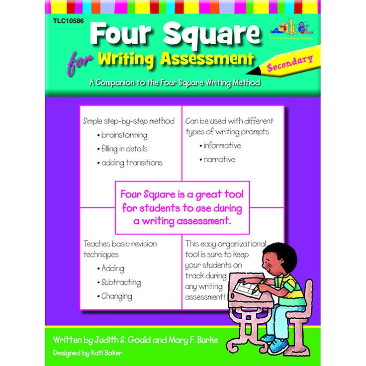 FOUR SQUARE FOR WRITING ASSESSMENT