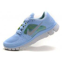 Nike Free Run+ 3 Damesko Blå Grå | billig Nike sko | Nike sko norge | kjøp Nike sko | ovostore.com