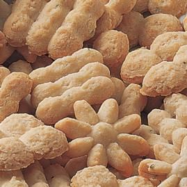 Peanut Butter Spritz Cookies Recipe (Wilton)