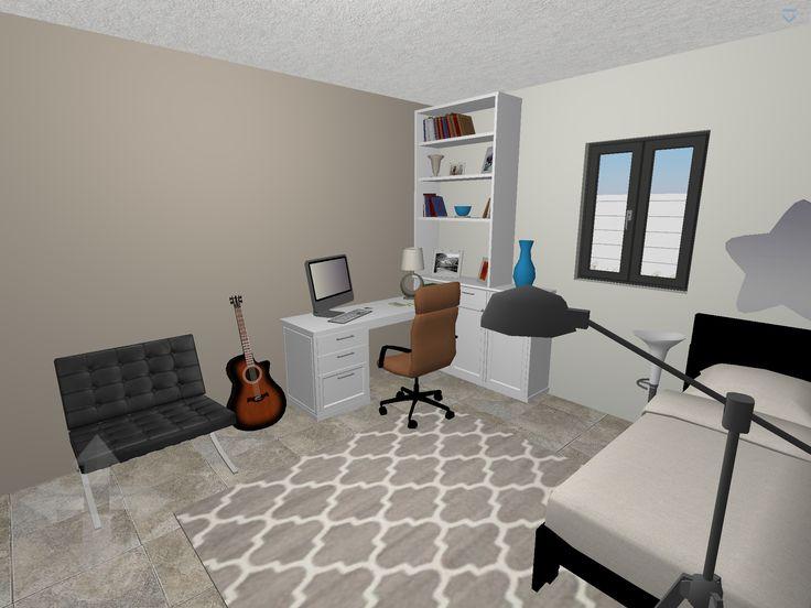 Plan 3d chambre d 39 ado logiciel home design 3d gold for Plan 3d chambre