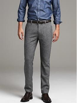 Aiden Slim-Fit Wool Pant | Banana Republic