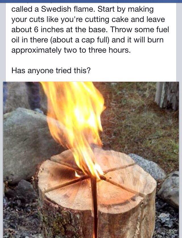 Great camp or bonfire idea