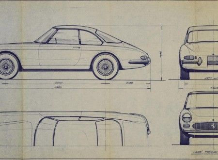 53 best ferrari blueprint images on pinterest technical drawings ferrari 275 gtc prototype pininfarina blueprint malvernweather Gallery