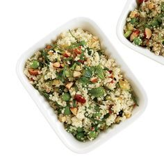 Couscous Salad with Zucchini and Roasted Almonds | Food & Wine