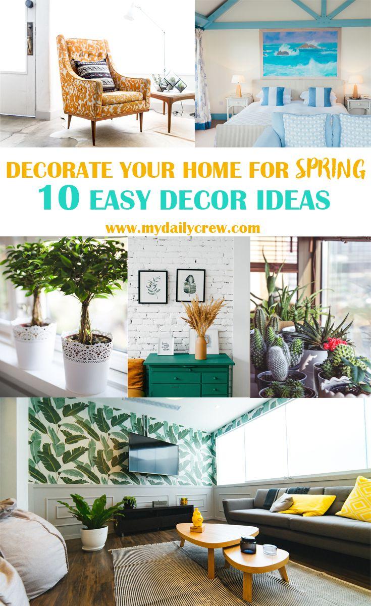 10 Easy Spring Dcor Ideas For A