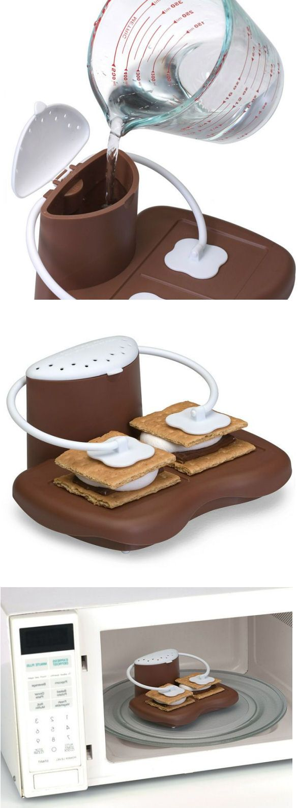 Microwaveable S'mores Maker //