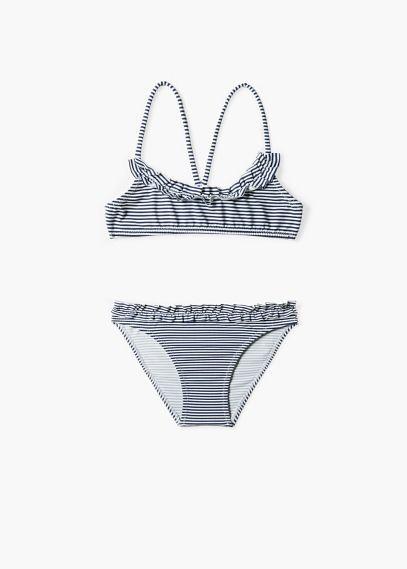 Gestreepte bikini | MANGO KIDS