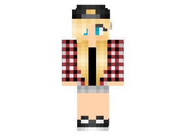 Blonde Teenager | Minecraft Skins